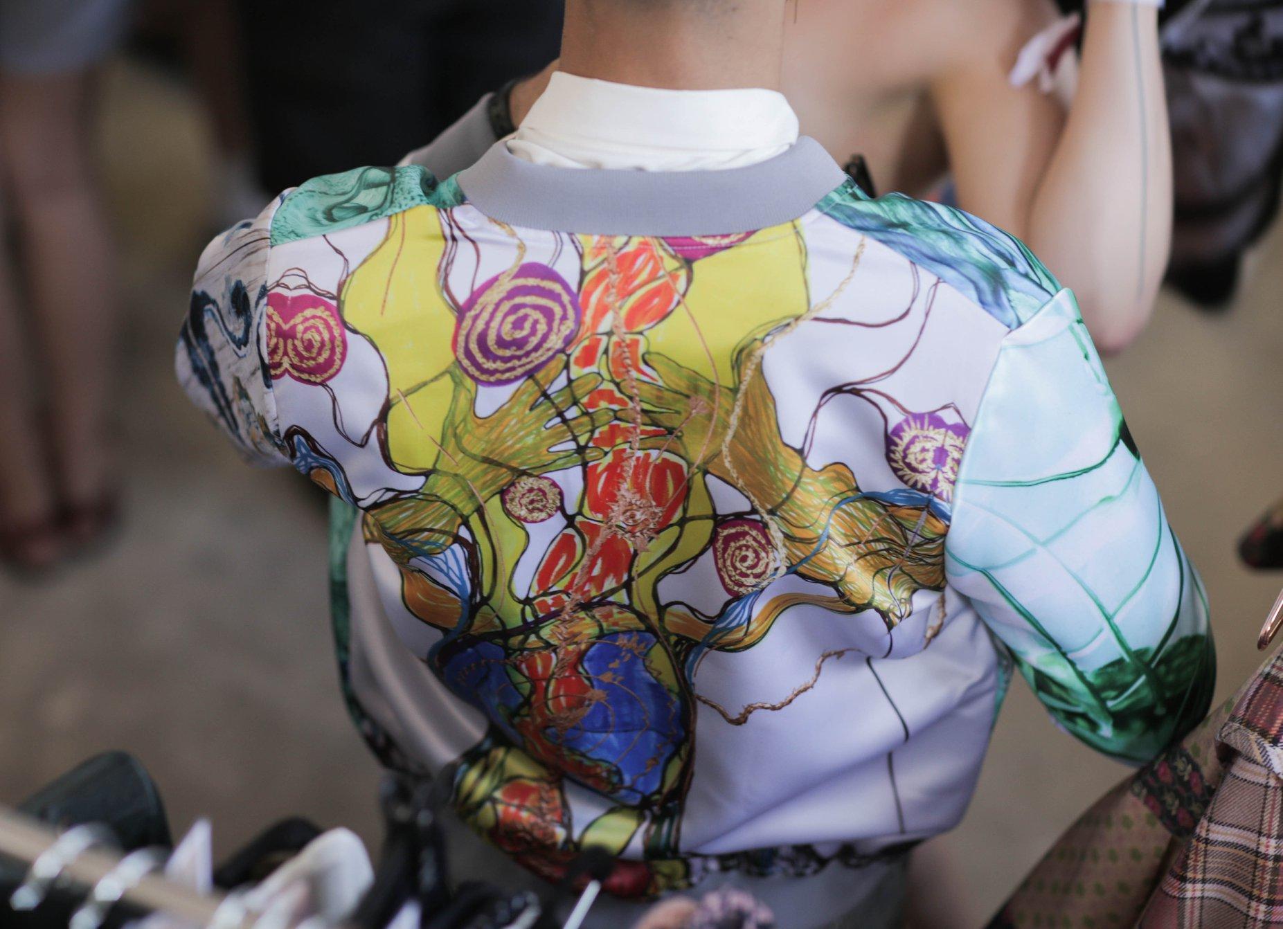 Kunst auf Kleidung